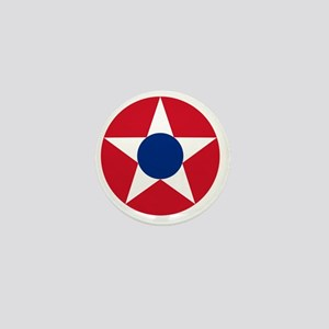 7x7-Roundel_of_the_Costa_Rican_Militar Mini Button