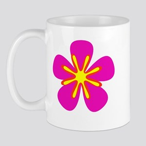 Pink Floral Colourful 47 Mug