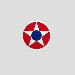 5x5-Roundel_of_the_Costa_Rican_Militar Mini Button