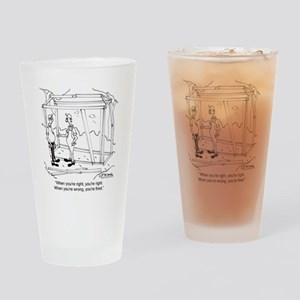 6336_carpenter_cartoon Drinking Glass