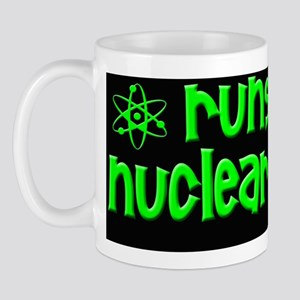 funny nuclear bumper stickers Mug