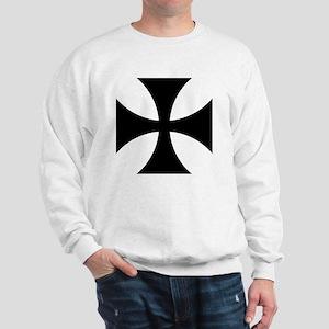 8x10-Cross-Pattee-Heraldry Sweatshirt