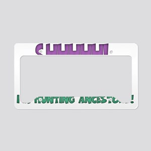 SHHHHHbevewy copy License Plate Holder