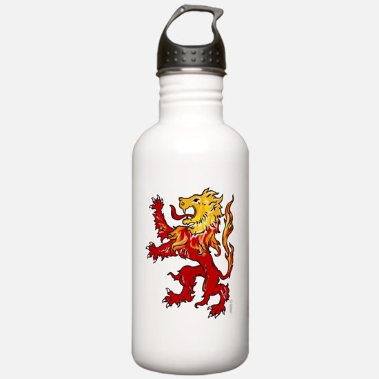 animals-lion-rampant Water Bottle