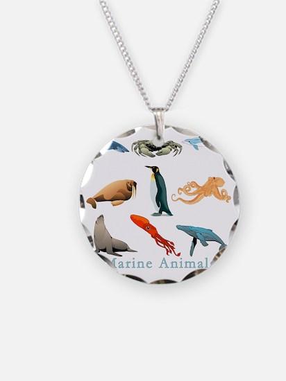 Marine Animals-10x10_apparel Necklace