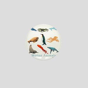 Marine Animals-10x10_apparel Mini Button