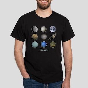 Planets-10x10_apparel Dark T-Shirt