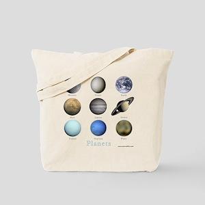 Planets-10x10_apparel Tote Bag