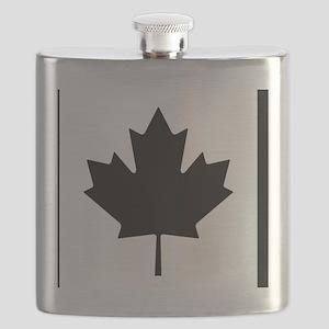 Canadian blue Flask