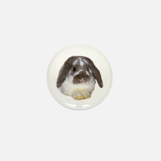 """Bunny 1"" Mini Button"