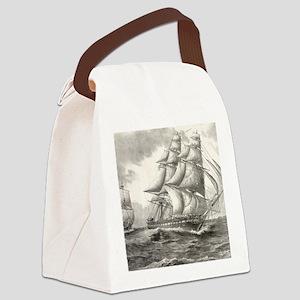 9x12_FramedPanelPrint_USSconstitu Canvas Lunch Bag