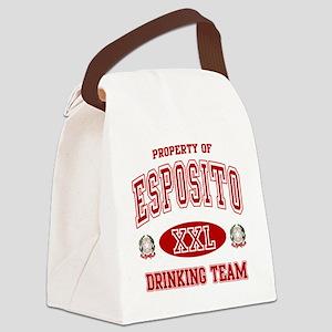 Esposito Italian Drinking Team Canvas Lunch Bag