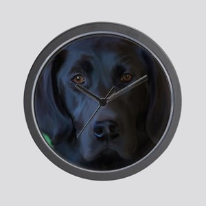 BlackLab16x16new Wall Clock