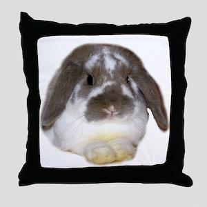"""""""Bunny 1"""" Throw Pillow"""