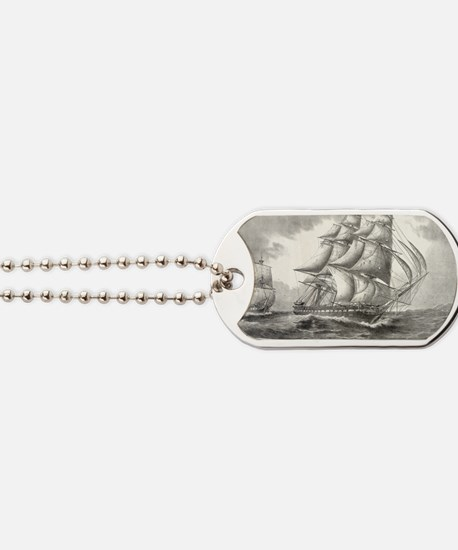 6x4_Postcard_USSconstitution Dog Tags