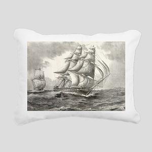 6x4_Postcard_USSconstitu Rectangular Canvas Pillow