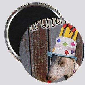 Happy Birthday from Ruby the Sassy Goat Magnet