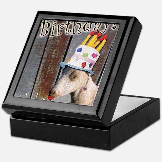 Happy Birthday from Ruby the Sassy Go Keepsake Box