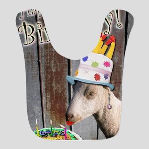 Happy Birthday from Ruby the Sassy Goat Bib