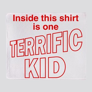 terrifickid Throw Blanket