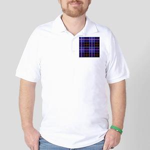 Dunlop Tartan Golf Shirt