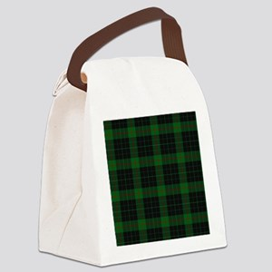 gunn tartan Canvas Lunch Bag
