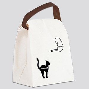 basement and ceiling Canvas Lunch Bag