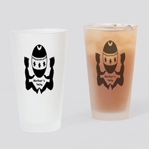 Mothers Twins Drinking Glass