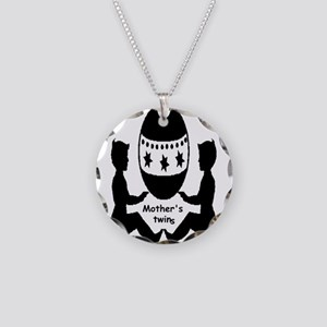 Mothers Twins Necklace