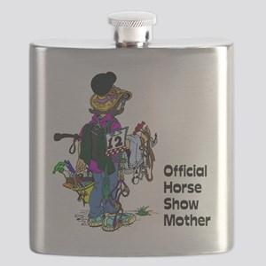 Horse Show Mother - English Flask