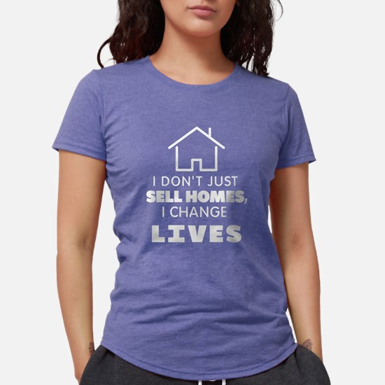 Cute Real estate agents Womens Tri-blend T-Shirt