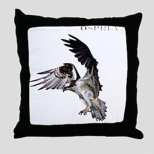 TShirt_Full osprey copy Throw Pillow