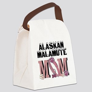 AlaskanMalamuteMOM Canvas Lunch Bag
