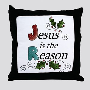 jesusisthereason2 Throw Pillow
