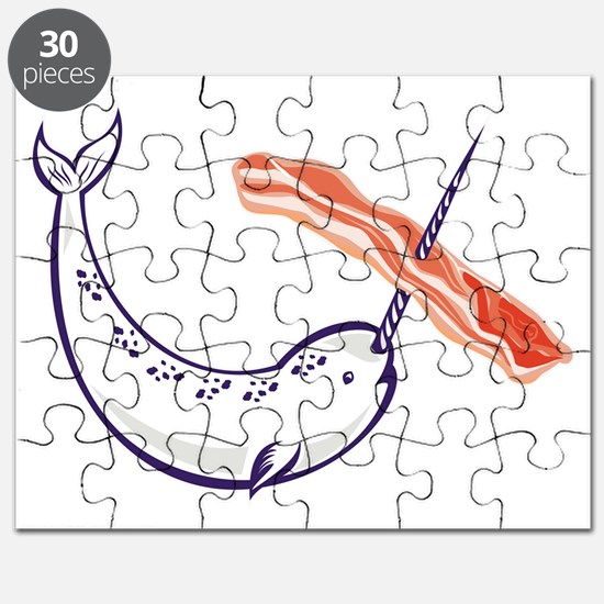 narwhal whale and bacon Puzzle