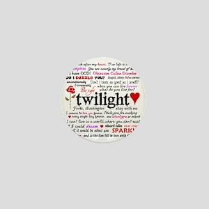 Twilight Quotes Mini Button