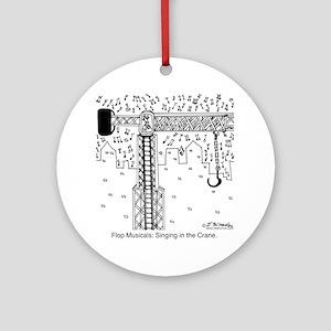 6324_musical_cartoon Round Ornament