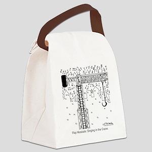 6324_musical_cartoon Canvas Lunch Bag