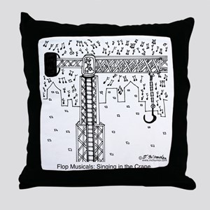 6324_musical_cartoon Throw Pillow