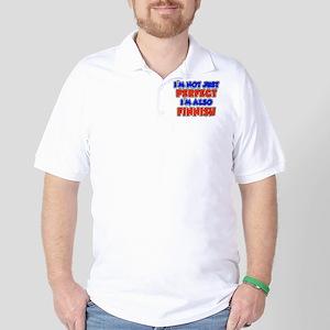 Not Just Perfect Finnish Golf Shirt