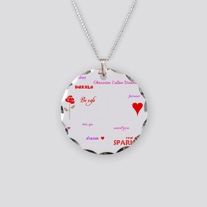 Twilight Quotes -dk Necklace Circle Charm