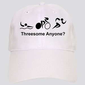 Dry Triathlon Threesome Black Cap