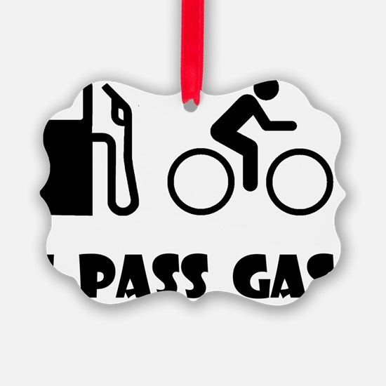 Dry Pass Gas Black Ornament