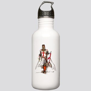 Dry Templar Knight Red Stainless Water Bottle 1.0L