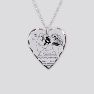 6322_roofing_cartoon Necklace Heart Charm