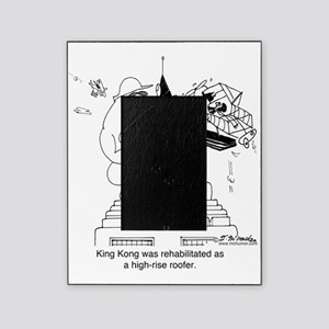6322_roofing_cartoon Picture Frame