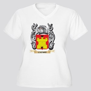 Lazaro Coat of Arms - Family Cre Plus Size T-Shirt