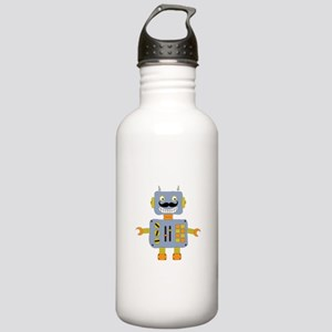 Mobot Moustache Robot Stainless Water Bottle 1.0L
