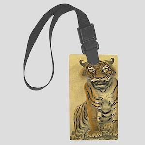 Tiger-Japanese-Print-iPad-Case Large Luggage Tag