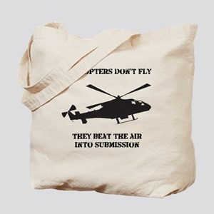 Dry Helicopter Submission Black Tote Bag